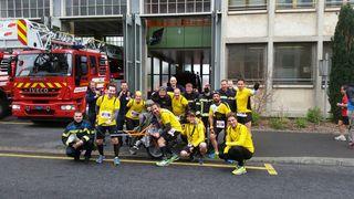 Des pompiers trop sympas !