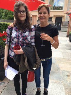 Elodie et Sandrine