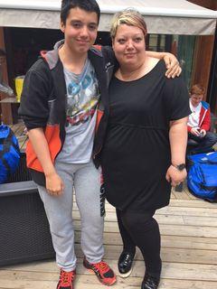 Stéphane et sa maman