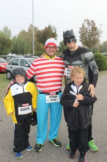 Batman et Charly ont accompagné nos capitaines