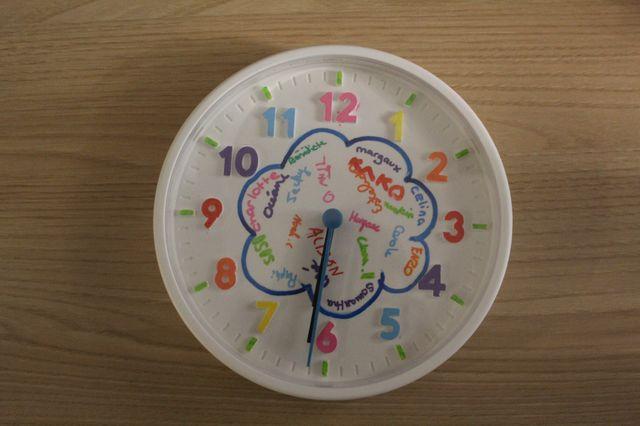 Le cadeau que les enfants ont décoré pour Jean-Jacques Goldman