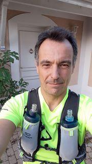 Ben qui a couru jeudi soir à Lyon, juste avant le confinement